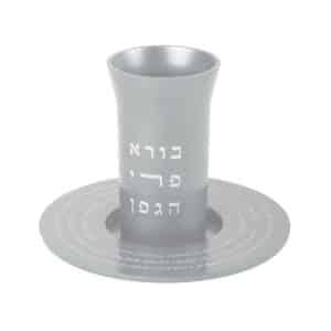 כוס קידוש לשבת גביע קידוש בורא פרי הגפן עמנואל כסף כסוף