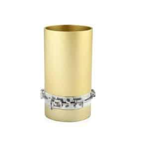 גביע קידוש כוס קידוש שבת אנודייז עם כיתוב דבח שמפניה
