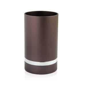 גביע קידוש לשבת אנודייז כוס קידוש דבח אפור