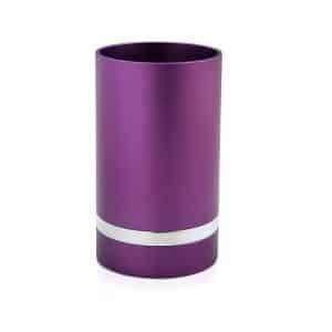 גביע קידוש לשבת אנודייז כוס קידוש דבח סגול